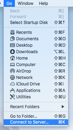 MacOS H-Drive Personal Network Storage - LTS Knowledge Base